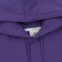 Мужская толстовка Lacoste Live Kangaroo Pocket Hoodie Purple/Purple фото- 1
