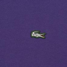 Мужская толстовка Lacoste Live Kangaroo Pocket Hoodie Purple/Purple фото- 2