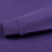 Мужская толстовка Lacoste Live Kangaroo Pocket Hoodie Purple/Purple фото- 3