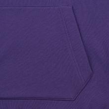 Мужская толстовка Lacoste Live Kangaroo Pocket Hoodie Purple/Purple фото- 4
