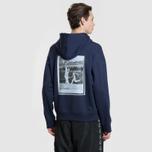 Мужская толстовка Lacoste Live Signature Embroidery Print Hoodie Navy Blue/Red/Light Blue/Black фото- 4