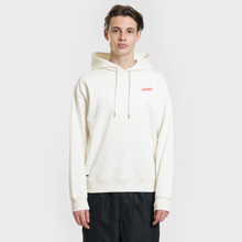 Мужская толстовка Lacoste Live Signature Embroidery Print Hoodie White/Red/Light Blue/Black фото- 2