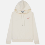 Мужская толстовка Lacoste Live Signature Embroidery Print Hoodie White/Red/Light Blue/Black фото- 0