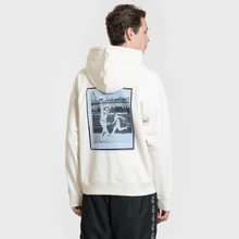Мужская толстовка Lacoste Live Signature Embroidery Print Hoodie White/Red/Light Blue/Black фото- 4