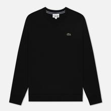 Мужская толстовка Lacoste Sport Crew Neck Solid Fleece Black фото- 0