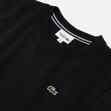 Мужская толстовка Lacoste Sport Crew Neck Solid Fleece Black фото- 1