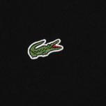 Мужская толстовка Lacoste Sport Crew Neck Solid Fleece Black фото- 2