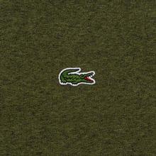 Мужская толстовка Lacoste Sport Crew Neck Solid Fleece Khaki Green фото- 2