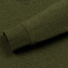 Мужская толстовка Lacoste Sport Crew Neck Solid Fleece Khaki Green фото- 3