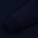 Мужская толстовка Lacoste Sport Hooded Fleece Tennis Navy Blue/Silver Chine фото- 3