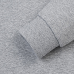 Мужская толстовка Lacoste Sport Hooded Fleece Tennis Silver/Navy Blue фото- 3