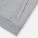 Мужская толстовка Lacoste Sport Hooded Fleece Tennis Silver/Navy Blue фото- 4