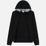 Мужская толстовка Lacoste Sport Tennis Hooded Zippered Black/Silver Chine фото- 1