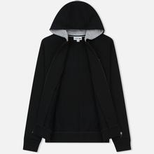 Мужская толстовка Lacoste Sport Tennis Hooded Zippered Black/Silver Chine фото- 1
