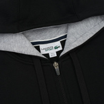 Мужская толстовка Lacoste Sport Tennis Hooded Zippered Black/Silver Chine фото- 2