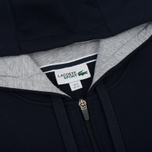 Мужская толстовка Lacoste Sport Tennis Hooded Zippered Navy Blue/Silver Chine фото- 2