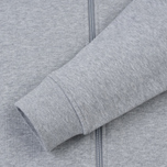 Мужская толстовка Lacoste Sport Tennis Hooded Zippered Silver/Navy Blue фото- 3