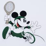 Мужская толстовка Lacoste x Disney Mickey Mouse Embroidered Fleece Hoodie White фото- 2