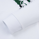 Мужская толстовка Lacoste x Disney Mickey Mouse Embroidered Fleece Hoodie White фото- 3
