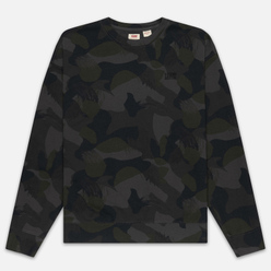Мужская толстовка Levi's Authentic Logo Crewneck Alvincamo Pirate Black