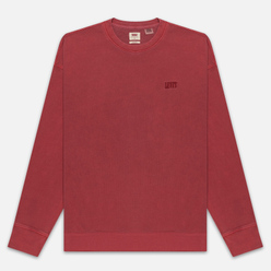 Мужская толстовка Levi's Authentic Logo Crewneck Earth Red