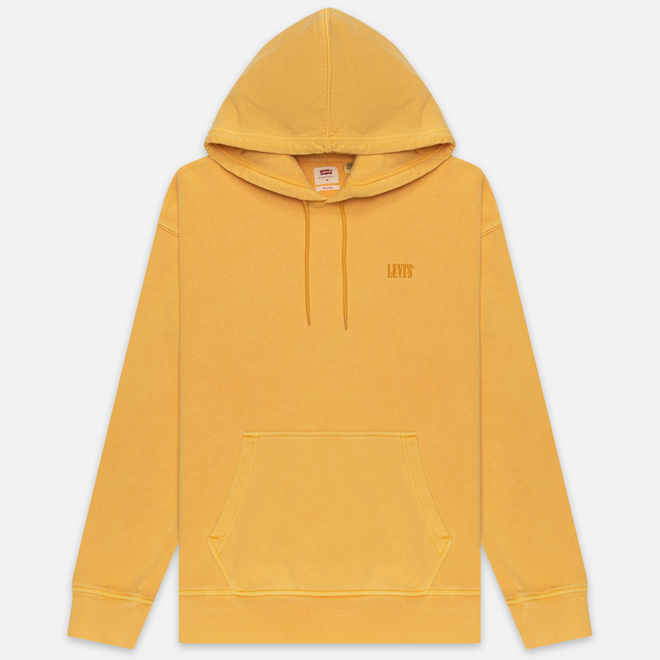 Мужская толстовка Levi's Authentic Logo Hoodie Golden Apricot Yellow