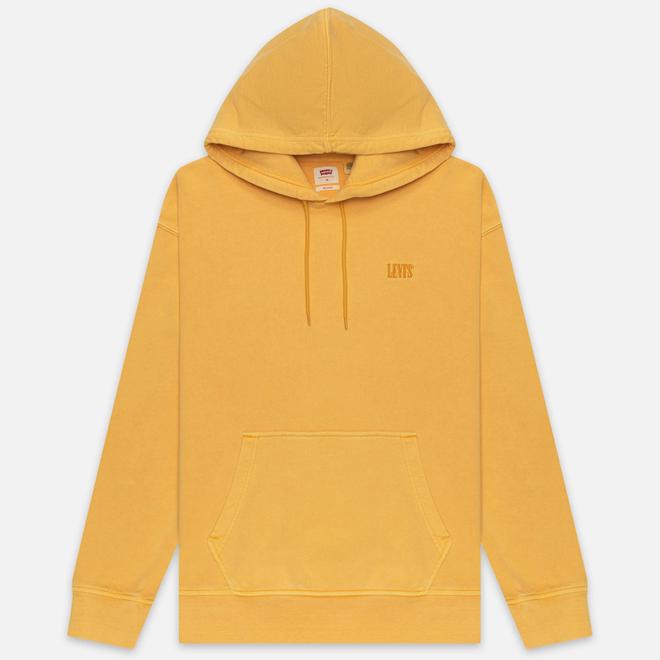 Мужская толстовка Levi's Authentic Logo Hoodie Golden Apricot Yellow
