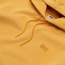 Мужская толстовка Levi's Authentic Logo Hoodie Golden Apricot Yellow фото- 1
