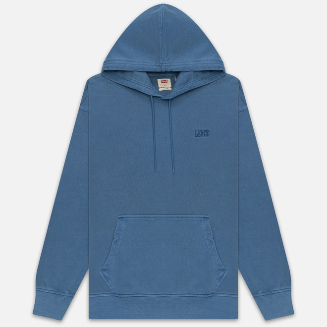 Мужская толстовка Levi's Authentic Logo Hoodie Riverside + R Blue