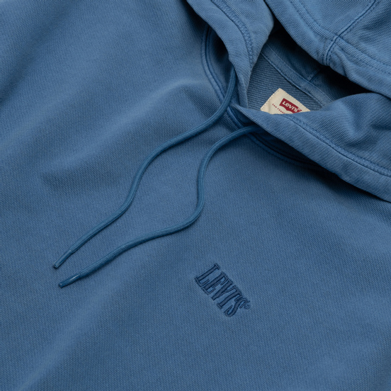 Мужская толстовка Levi's Authentic Logo Hoodie Riverside + R Blue