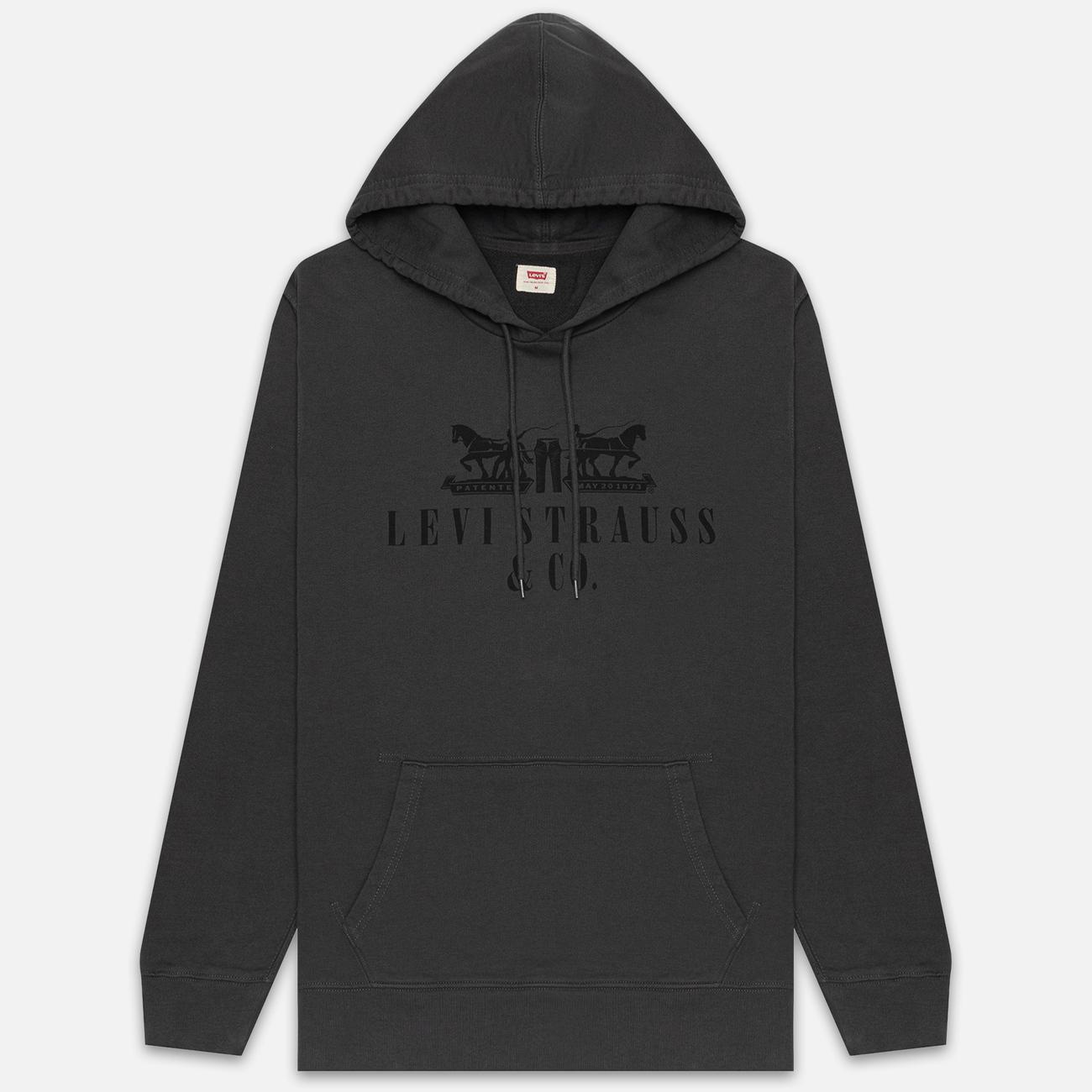 Мужская толстовка Levi's Graphic Hoodie Forged Iron