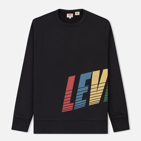 Мужская толстовка Levi's Graphic Logo Crew Neck Black