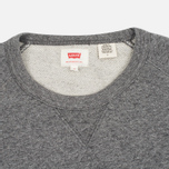 Мужская толстовка Levi's Original Crew Medium Grey Heather фото- 1