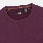 Levi's Skateboarding Crewneck Men's sweatshirt Burgundy photo- 1