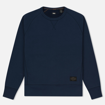 Мужская толстовка Levi's Skateboarding Crewneck Fleece Dress Blue