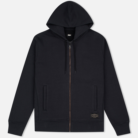 Мужская толстовка Levi's Skateboarding Full Zip Jet Black