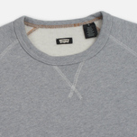 Мужская толстовка Levi's Skateboarding Crewneck Fleece Rollerskate Grey Heather фото- 1