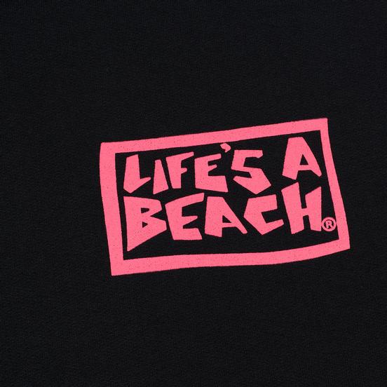 Мужская толстовка Life's a Beach All Sleeve Hoodie Black