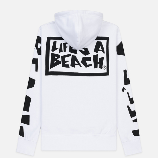 Мужская толстовка Life's a Beach All Sleeve Hoodie White