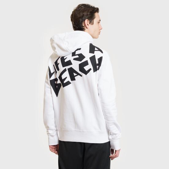 Мужская толстовка Life's a Beach Logo Hoodie White