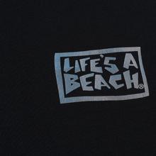 Мужская толстовка Life's a Beach Petro Drop Crew Black фото- 2