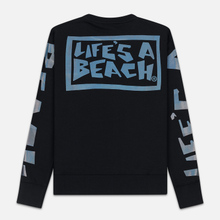 Мужская толстовка Life's a Beach Petro Drop Crew Black фото- 5