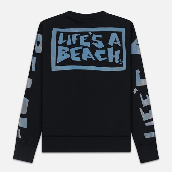 Мужская толстовка Life's a Beach Petro Drop Crew Black