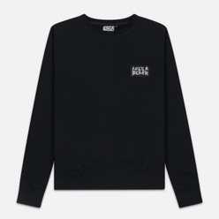 Мужская толстовка Life's a Beach Reflective Box Logo Crew Black