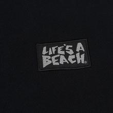Мужская толстовка Life's a Beach Reflective Box Logo Crew Black фото- 2