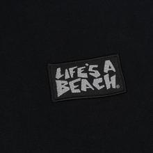 Мужская толстовка Life's a Beach Reflective Box Logo Hoodie Black фото- 2