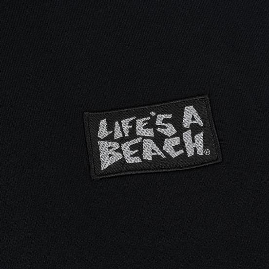 Мужская толстовка Life's a Beach Reflective Box Logo Hoodie Black