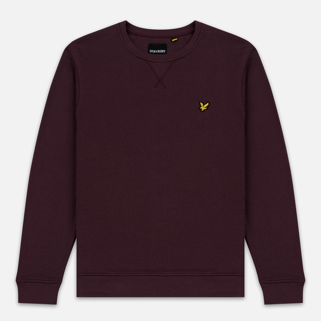 Мужская толстовка Lyle & Scott Classic Crew Neck Berry