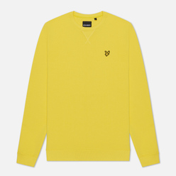 Мужская толстовка Lyle & Scott Classic Crew Neck Buttercup Yellow