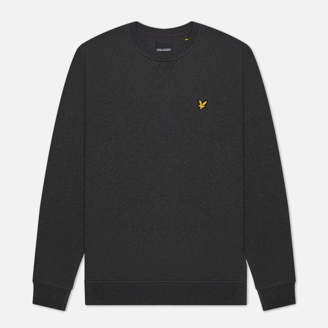 Мужская толстовка Lyle & Scott Classic Crew Neck Charcoal Marl